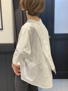 【即納】後シャツ七分袖Tシャツ