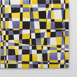 デザインペーパー【モザイク Purple & Yellow】/3枚セット