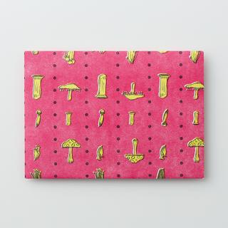 デザイン封筒【きのこ食べたい】/3枚セット