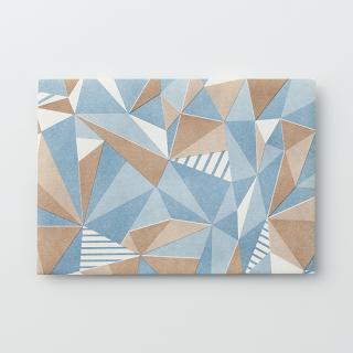 デザイン封筒【つながる三角】/3枚セット