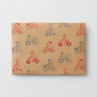 デザイン封筒【サイクリング部】/3枚セット