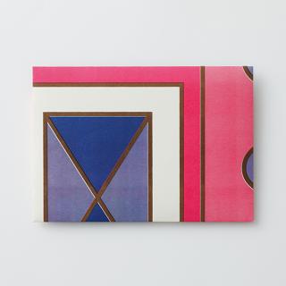 デザイン封筒【幾何学模様な模様】/3枚セット