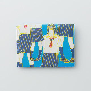 大人のポチ袋【セーラー女子がいっぱい・ブルー】/3枚セット