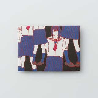 大人のポチ袋【セーラー女子がいっぱい・ブラック】/3枚セット