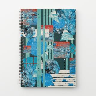リングノート【青い壁】
