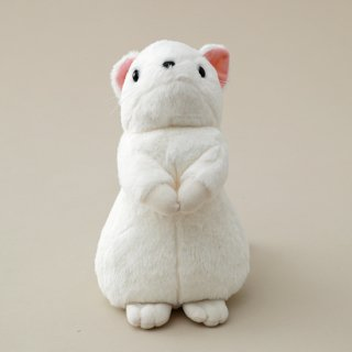 オコジョぬいぐるみS(白色 サイズ 約15cm)