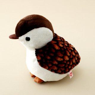 雷鳥ぬいぐるみ ヒナM(茶色 サイズ 約18cm)