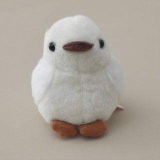 雷鳥ぬいぐるみ ヒナS(白色 サイズ 約11cm)