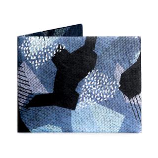【RFID】Slim Wallet-BLUE CAMO