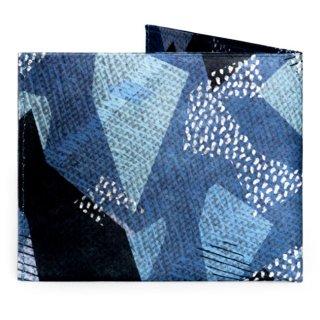 【RFID】Flat Wallet-BLUE CAMO