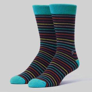 Men's Beachcomber Stripe Premium Crew Sock