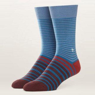 Men's Fireside Stripe Premium Crew Sock