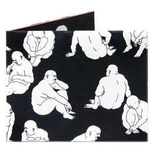 【RFID】Slim Wallet-UNGA BLACK MAT