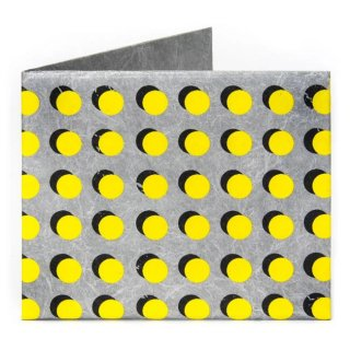 【RFID】Slim Wallet-YELLO DOTS