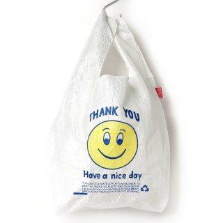 OPEN EDITIONS Regular Eco Bag-White SMILY