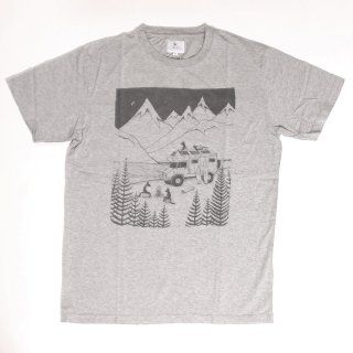Camping With Dogs SS Tee_H.Gray