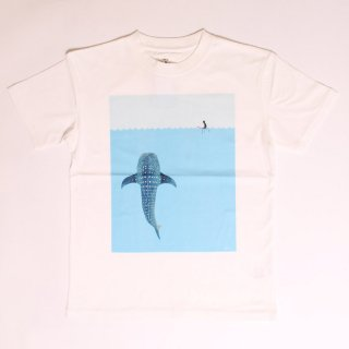 Whale Shark SS Tee_White