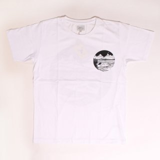 Home Is Where You Pitch It SS Tee_White