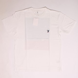 The Moose and The Wave SS Tee_White