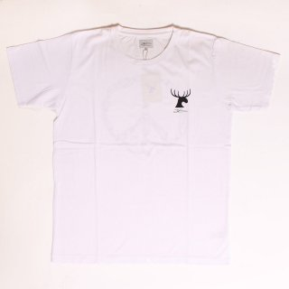 Surf Peace SS Tee_White