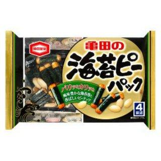 亀田製菓 海苔ピーパック12入。
