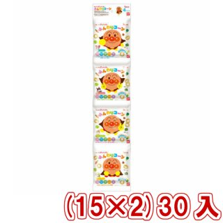 (本州一部送料無料)東ハト バンダイ 4連包 それいけ!アンパンマン ふんわりコーン やさしいしお味 (15×2)30入 (Y14)。