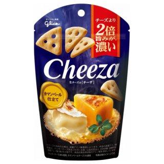 江崎グリコ チーズより2倍旨みが濃い 生チーズのチーザ カマンベール仕立て 10入。