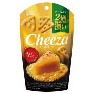 江崎グリコ チーズより2倍旨みが濃い 生チーズのチーザ チェダーチーズ 10入。