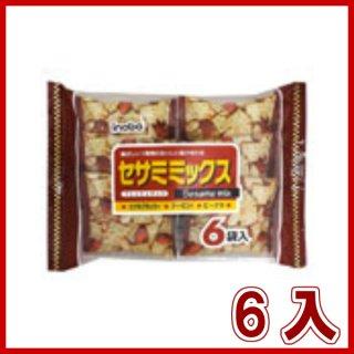 稲葉ピーナツ セサミミックス 6袋×6入。