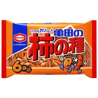 亀田製菓 亀田の柿の種  6袋詰 12入。