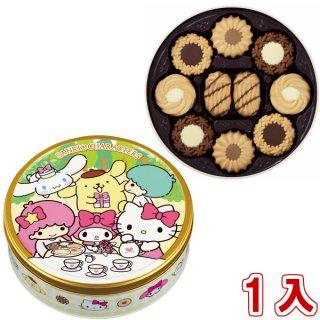 ブルボン トルテクッキー缶 サンリオキャラクターズ 1入。
