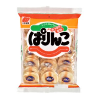 三幸製菓 36枚 ぱりんこ 12入 (Y10) 。