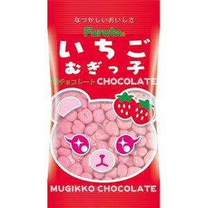 フルタ いちごむぎっこチョコレート 20入 。