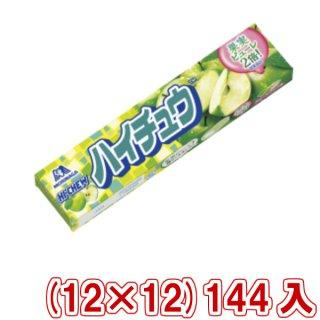 (本州一部送料無料) 森永 ハイチュウ グリーンアップル (12×12)144入 (Y80)(ケース販売) 。