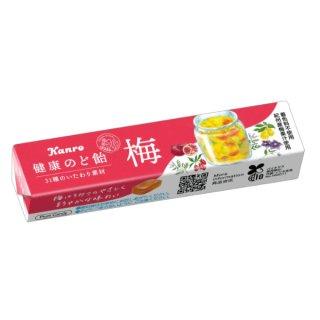 カンロ 健康梅のど飴ST 10入。