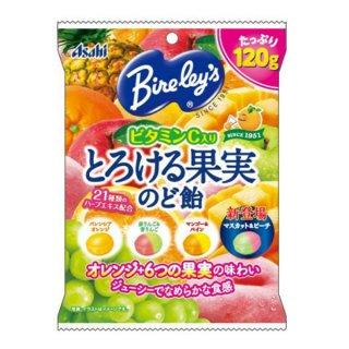 アサヒ バヤリース とろける果実のど飴 6入