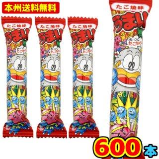 (本州一部送料無料)やおきん うまい棒 たこ焼味 (30×20)600入 (Y14)(ケース販売)。