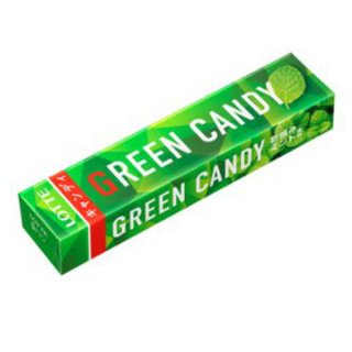 ロッテ グリーンキャンディ10個入 。