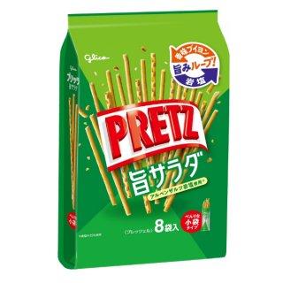 (本州一部送料無料) 江崎グリコ 9袋 プリッツ 旨サラダ (6×8)48入 (Y14) 。