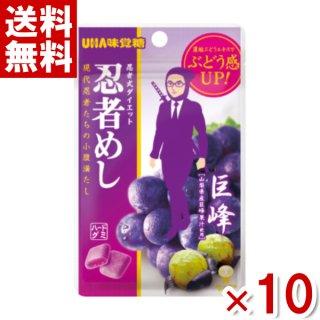 (メール便全国送料無料)味覚糖 忍者めし 巨峰味 10入