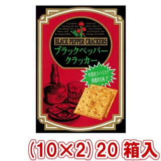 (本州一部送料無料)前田製菓  5枚×6袋 6Pブラックペッパークラッカー(BOXタイプ)(10×2)20入(Y10)。