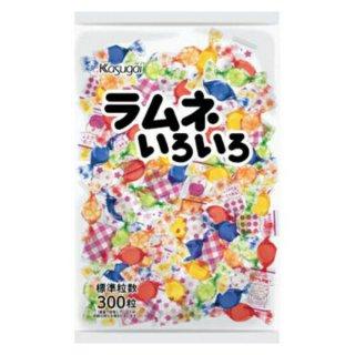 (本州一部送料無料) 春日井 720g ラムネいろいろ 10入  (Y12)(ケース販売)。