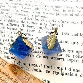 鉱物化した植物の実/青い蛍の実 I