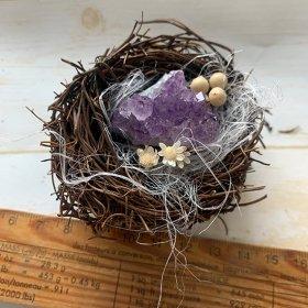 アメシスト鳥の巣仕立て/きらら舎
