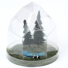 水晶ドームジオラマキット