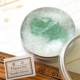 南アフリカ蛍石/アルミ缶入