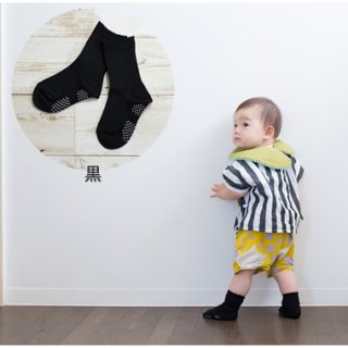 ベビー・キッズの靴下【黒】10-12cm,13-15cm,16-18cm,19-21cm,22-24cm