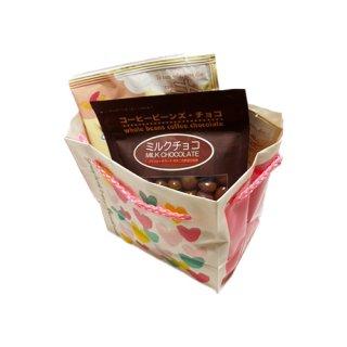 【ホワイトデー限定】選べるドリップコーヒー2個とビーンズチョコ1種類セット(ホワイトデーバッグ付)