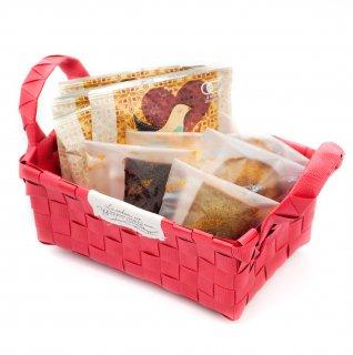 【母の日限定】マザーズブレンド ドリップコーヒー5個と焼き菓子5個(限定バスケット入り)