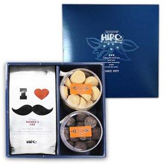 【父の日特集】選べるクッキー2種類と限定ファザーズブレンド(送料無料)
